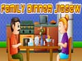 খেলা Family Dinner Jigsaw
