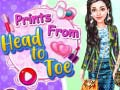 খেলা Prints From Head To Toe