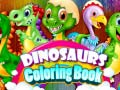 Dinosaurs Coloring Book קחשמ