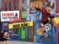 Spiel Dennis & Gnasher Unleashed Skate Blam