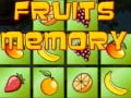 Lojë Fruits Memory