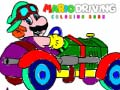 Igra Mario Driving Coloring Book