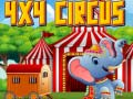 Spēle 4x4 Circus