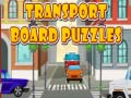 Игра Transport Board Puzzles