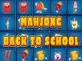 Spēle Back to school mahjong