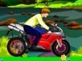Игра Justin Bieber Green Valley Bike Riding