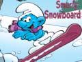Spel Smurfy Snowboard