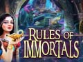 Spiel Rules of Immortals