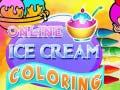 Igra Online Ice Cream Coloring