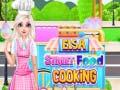Igra Elsa Street Food Cooking