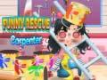 Spēle Funny Rescue The Carpenter