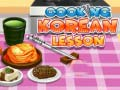 খেলা Cooking Korean Lesson