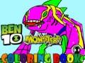 Igra Ben10 Monsters Coloring book