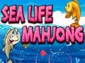 Spēle Sea life mahjong