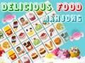 Spēle Delicious Food Mahjong Connect