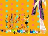 Игра Dress up trendy