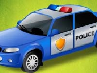 Spiel Police cars