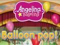 Igra Angelina Ballerina Balloon Pop