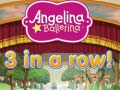 খেলা Angelina Ballerina 3 in a Row
