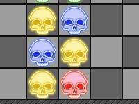 Игра Falling skulls