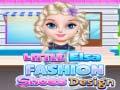 খেলা Little Elsa Fashion Shoes Design