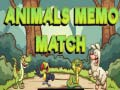 Animals Memo Match קחשמ