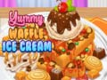 Yummy Waffle Ice Cream קחשמ