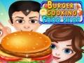 Spēle Buger Cooking Food Shop