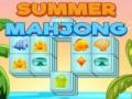 Cluiche Summer Mahjong