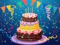 Birthday Cake Puzzle קחשמ