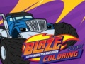 Igra Baze and the monster machines Coloring Book