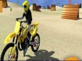 Ігра Motor Cycle Beach Stunt
