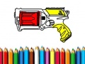 Juego Back To School: Nerf Coloring Book