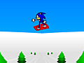 Juego Sonic 3D Snowboarding