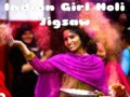 Jeu Indian Girl Holi Jigsaw