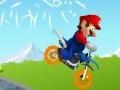 Игра Mario Hard Bike