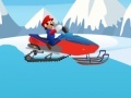 Hry Mario Snowmobile