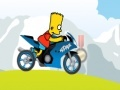 Игра Simpsons bike ride