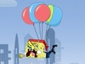 Игра Balloons save Spongebob