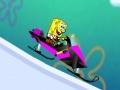 Gra Sponge Bob Sled Ride