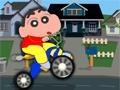 Игра Shin chan bike