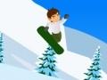 Игра Ben10 Snowboard