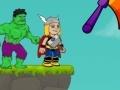 Игра Hulk Punch Thor