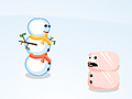 Game Sumo Snowman