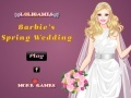 Игра Barbie's Spring Wedding