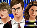 Lojë Harry Potter's magic makeover