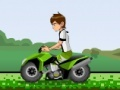 Игра Ben 10 ATV escape