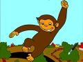 Игра Curious George: Online Coloring