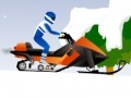 Игра Snowmobile Stunt