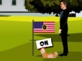 Игра Obama Romney Chicken Kickin